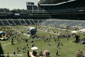 SEAHAWKS STADIUM GRAND OPENING